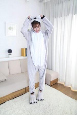 pijama intreaga tip salopeta - Urs Koala