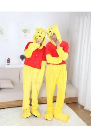 pijama intreaga tip salopeta - WINNIE THE POOH